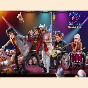 Plakat, Rolling Stones