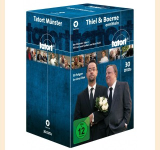 Tatort Münster Ermittler-Box (Gesamtbox Vol. 1-3)