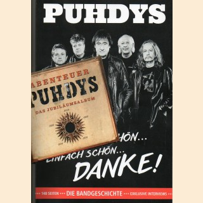 Puhdys Paket Journal + CD Abenteuer