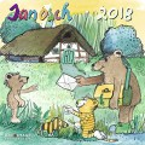 Janosch Kalender 2018- Kinderkalender/Broschürenkalender/Wandkalender- mit großem Poster- 30 x 30 cm