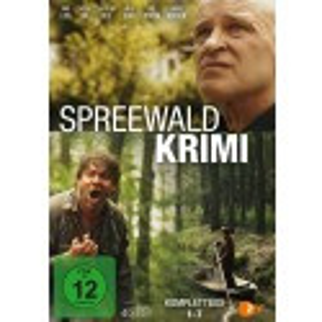 Spreewaldkrimi - Komplettbox - Folge 1-7  (4 DVDs)